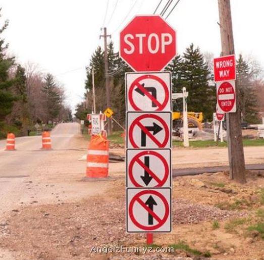 crazy street signs
