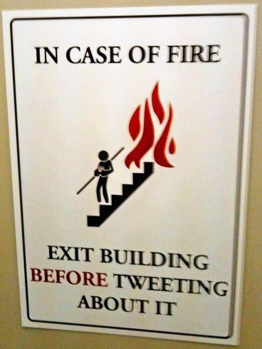 best fire exit sign ever