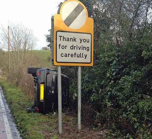 epic traffic signs fail