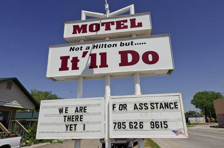 epic hotel sign fails