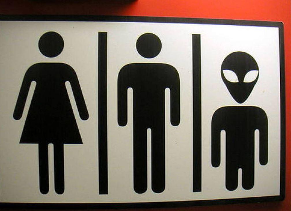 advertisement - Gender Neutral Bathroom Signs