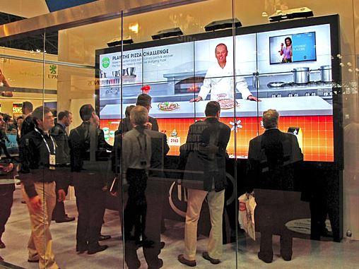 digital signage corporate marketing ideas