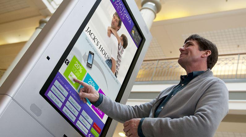 digital signage interactive advertising
